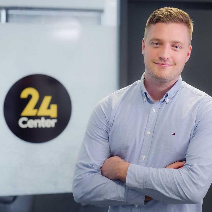 Toimitusjohtaja Joose Pinomaa